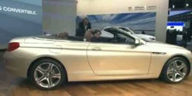 Weltpremiere des neuen 6er BMW