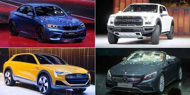 Highlights der Detroit Auto Show 2016
