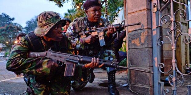 Nairobi: Fast alle Geiseln befreit