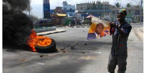 Tote bei erneuten Unruhen in Nairobi