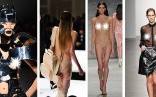 New York Naked Week : Die frivolen Nackt-Looks der Modewoche