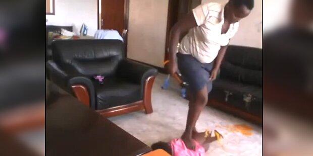 Schock-Video zeigt prügelnde Nanny