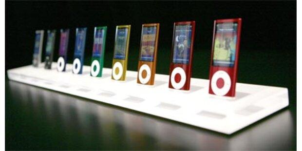 iPods sind nun besser und preiswerter