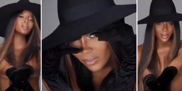 Wow!: Naomi: Hier trägt sie nichts außer Hut