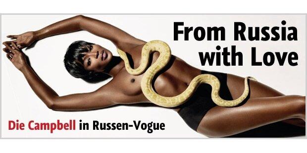 Naomi Campbell - Star der russischen Vogue