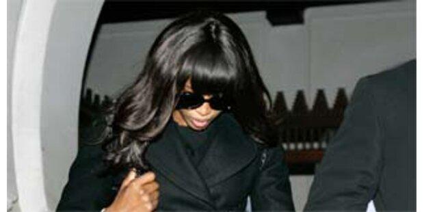 Naomi Campbell am Flughafen Heathrow festgenommen