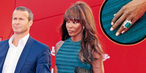 Jetzt klunkert Naomi wieder!