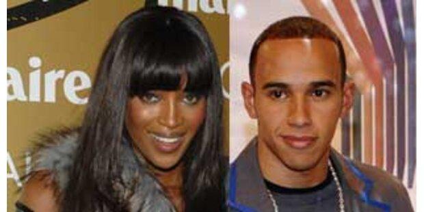 Was verbergen Naomi Campbell und Lewis Hamilton?