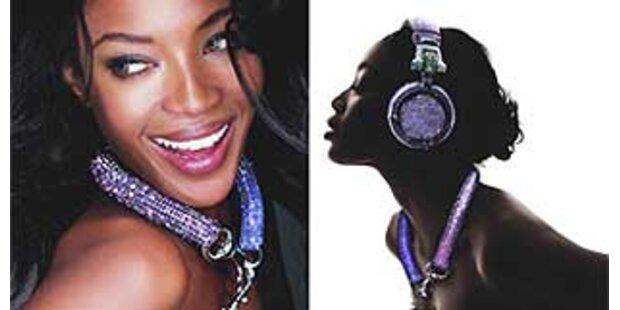 Naomi ist Star der Swarovski-Kampagne