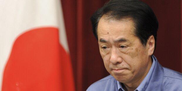 Japans Premier will auf Gehalt verzichten