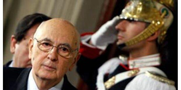 Italiens Präsident findet keinen Ausweg aus Krise