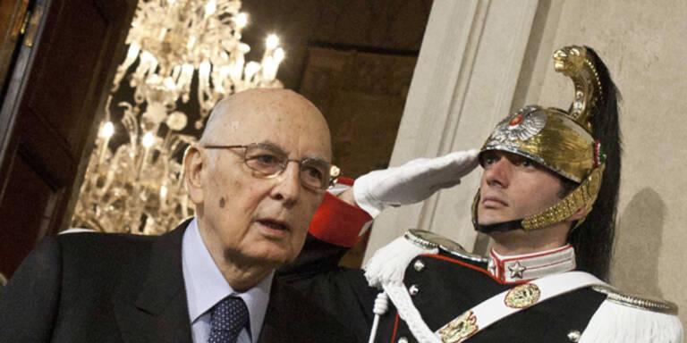 Italiens Präsident dementiert Rücktritt