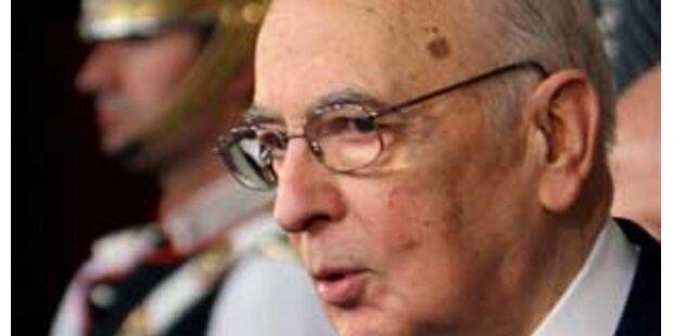 Italienischer Präsident sucht Ausweg aus Krise