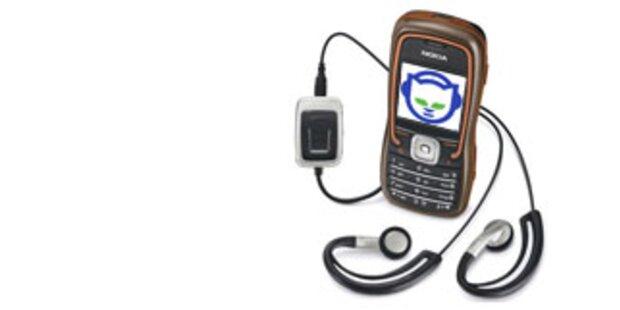Napster-Musik  jetzt auch direkt auf dem Handy