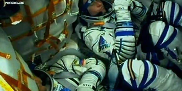 Wunder! Astronauten überleben Notlandung unverletzt