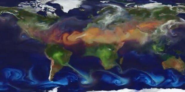 NASA berechnet globale Staubverteilung