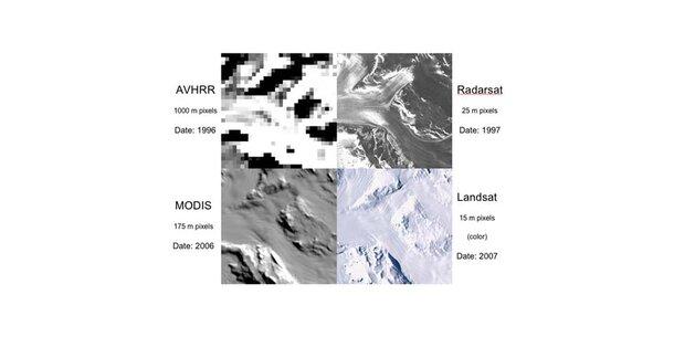 NASA liefert hochauflösende Fotos des Südpols