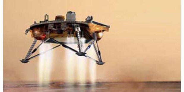 Angeblich Wasser am Mars entdeckt
