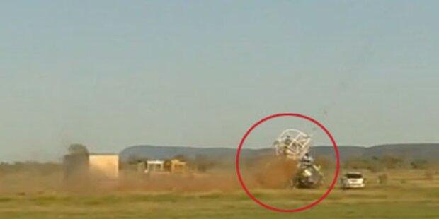 NASA-Forschungsballon richtet Chaos an