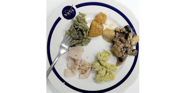 Das Essen der NASA-Astronauten zu Thanksgiving