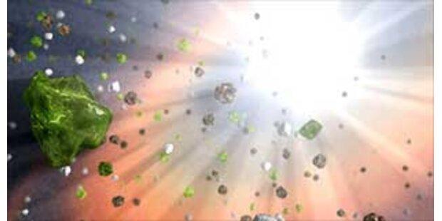 NASA findet Milliarden Jahre alten Staub