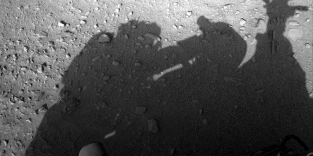 NASA-Foto zeigt Mann auf dem Mars