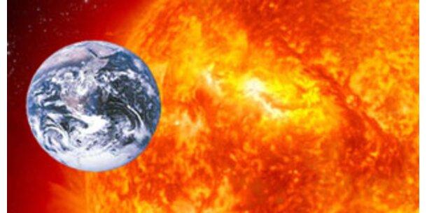 Erde ist nun der Sonne am nächsten