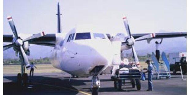 Boeing kollidierte mit Kalb in Indonesien