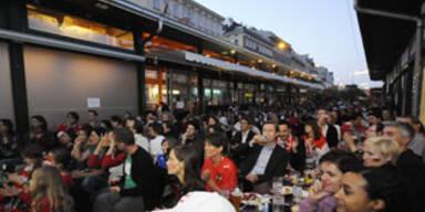 Sommerfest am Wiener Naschmarkt