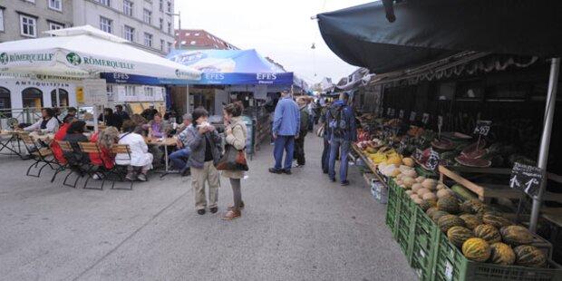 Naschmarkt: 4 Verletzte bei Schlägerei