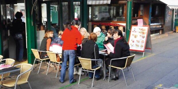 Naschmarkt: Wachdienst gegen Bettler?