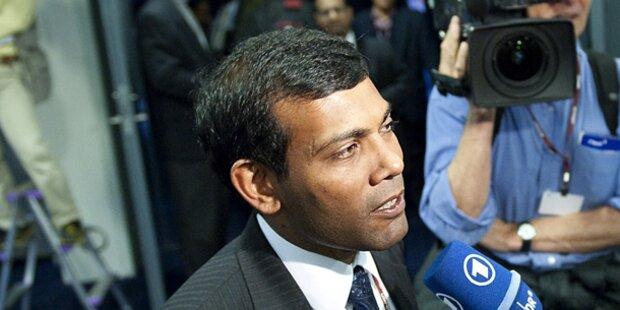 Polizeiputsch auf den Malediven