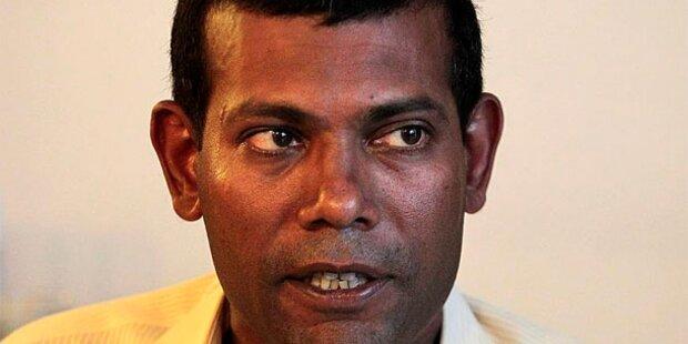 Malediven: Haftbefehl für Ex-Präsidenten