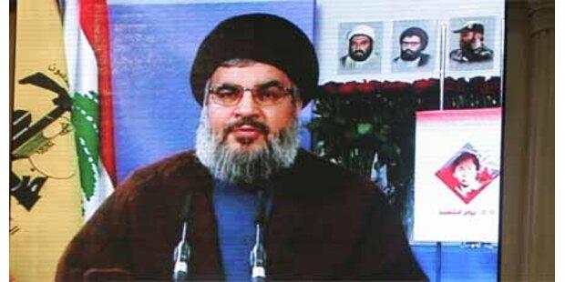 Hisbollah droht Israel