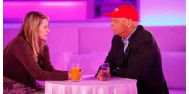 Nataschas erste Show mit Niki Lauda
