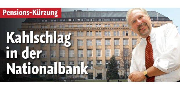 Jobs gestrichen: Nationalbank muss sparen