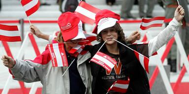 78 Prozent sind stolz auf Österreich