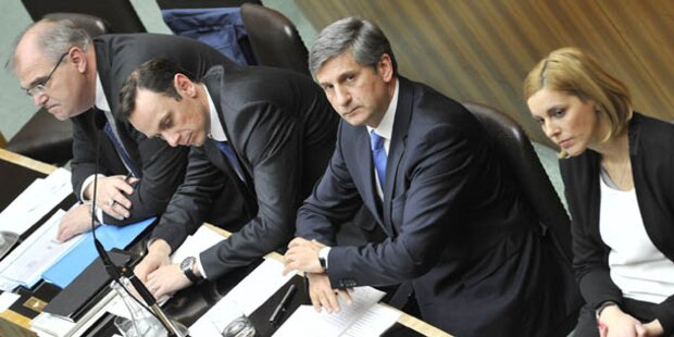 Parlament beschließt heute Doppelbudget