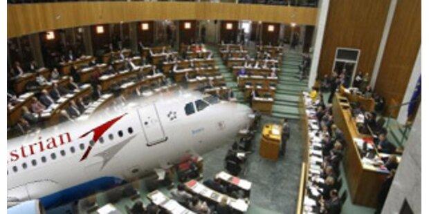 Nationalrat beschließt heute AUA-Staatshilfe