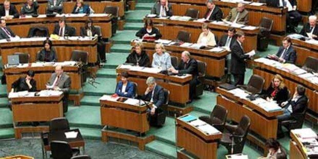 Nulllohnrunde für Politiker auch 2011