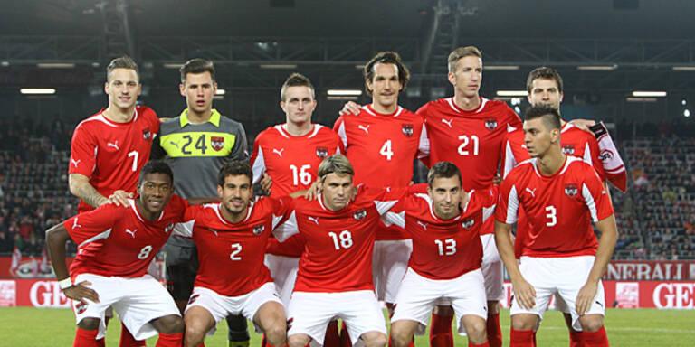 ÖFB-Team fällt auf Platz 79 zurück