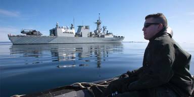 Nervenkrieg im Schwarzen Meer