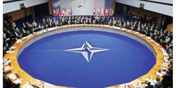 NATO über Kompromiss zu Georgien und Ukraine einig