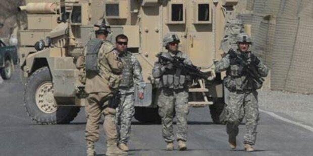 Drei Tote bei Anschlag auf NATO-Truppen