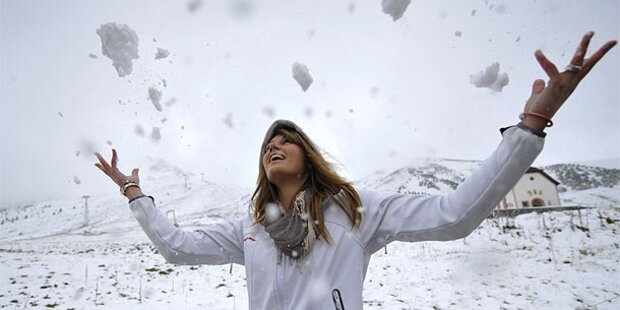 Winter-Alarm: halber Meter Schnee