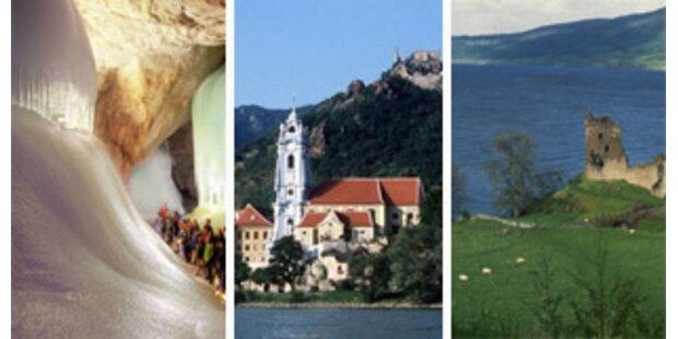 Eisriesenwelt und Donau zu den 7 Naturwundern?