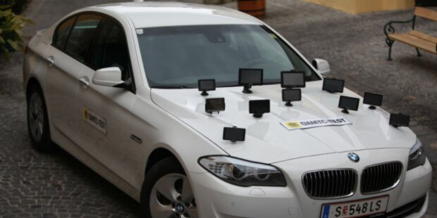Neun Navigationsgeräte im großen Test