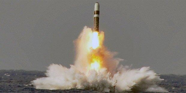 Britische Marine feuerte Atomrakete in Richtung USA