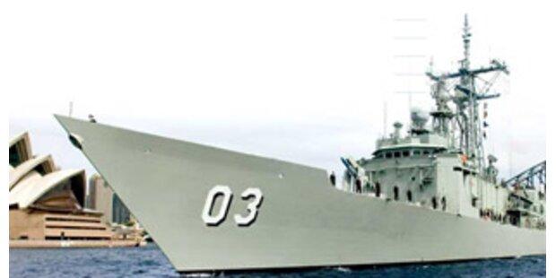 Australiens Marine macht 2 Monate Weihnachtsurlaub
