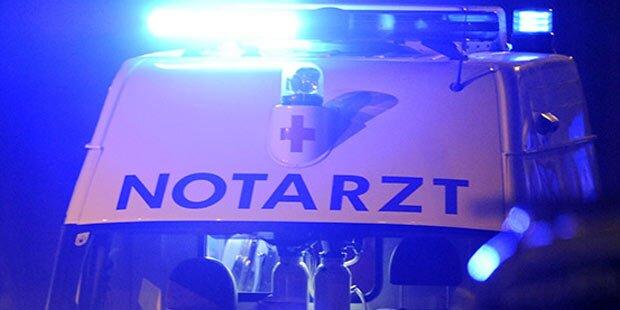 Horror-Unfall: Mann stürzt in Kreissäge